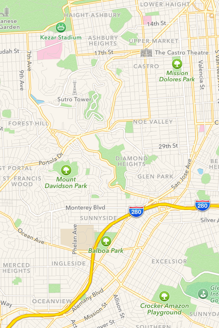 Apple Maps for the win?   The iPhone Antidote Blog on