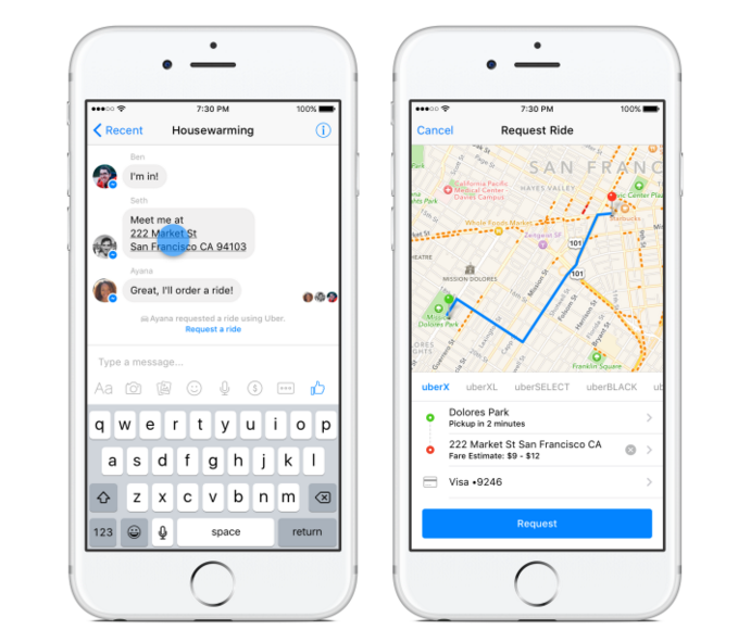 Get a free Uber ride from Facebook Messenger!! | The iPhone Antidote